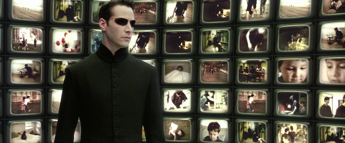 """Матрица: перезагрузка"", кадр из фильма"